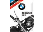 Retro metallijuliste BMW Motorcycles since 1923 30x40 cm SG-80069