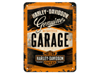 Металлический постер в ретро-стиле Harley-Davidson Garage 15x20 cm SG-80663