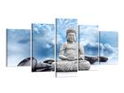 Картина из 5-частей Буда 200x100 см