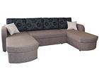 Угловой диван-кровать с двумя ящиками Pilleriin U