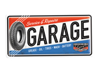 Retro metallijuliste Service & Repair Garage 25x50 cm SG-82043