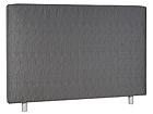 Kangasverhoiltu sängynpääty STANDARD 220x113x10 cm