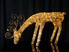 LED tuledega kuldne hirv AA-84263
