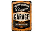 Металлический постер в ретро-стиле Harley-Davidson Garage 20x30 cm SG-84337