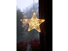 Рождественская декорация на окно Täht 25 cм