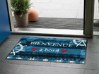 Matto BIENVENUE A BOARD 50x75 cm A5-84710