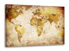 Seinapilt Maakaart 60x80 cm