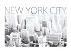 Lautasen alusta NEW YORK CITY 4 kpl