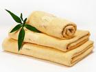 Bambu pyyheliinasetti keltainen AN-86543