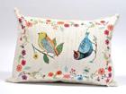 Gobeläänkangast dekoratiivpadi Linnud 35x48 cm