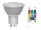 RGB LED лампочка GU10