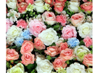 Fotokardin Roses, 280x245 cm