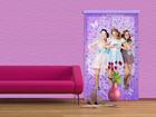 Fotokardin Disney Violetta and friends 140x245 cm