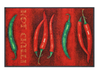 Matto HOT CHILI 75x120 cm