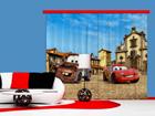 Pimentävä fotoverho DISNEY CARS 280x245 cm
