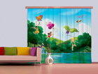 Pimendav fotokardin Disney Fairies with rainbow 280x245 cm