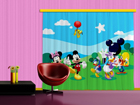 Pimentävä fotoverho DISNEY MICKEY AND FRIENDS 280x245 cm ED-87463