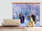 Pimentävä fotoverho DISNEY ICE KINGDOM 280x245 cm