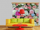 Pimendav fotokardin Roses 280x245 cm