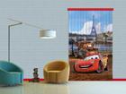 Pimentävä fotoverho DISNEY CARS PARIS 140x245 cm ED-87830
