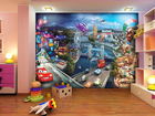 Fototapeet Disney Cars 2 mix 360x254 cm ED-87997