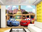 Fototapeet Disney McQueen and Sally 360x254 cm ED-87999