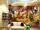 Kuvatapetti DISNEY FAIRIES 360x254 cm ED-88008