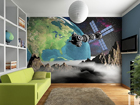 Fototapeet View of the Earth from space 360x254 cm