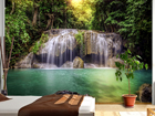 Fototapeet Waterfall in the tropics 360x254 cm