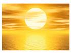 Fototapeet Golden sun 400x280 cm
