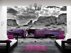 Fototapeet Cadillac in pink 400x280 cm