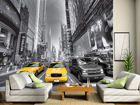 Fototapeet Yellow taxi 360x254 cm ED-88155