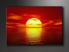 Seinapilt Päike 60x80 cm