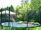 Turvaverkko 3,66 m trampoliiniin tolpilla