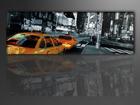 Seinapilt New York takso 120x40 cm
