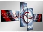 Neliosainen seinätaulu TANSSI 160x70 cm ED-88899