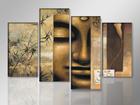 Картина из 4-частей Buddha 130x80 см