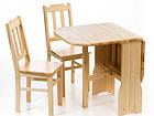 Taittopöytä ja 2 TIM tuolia EC-89527