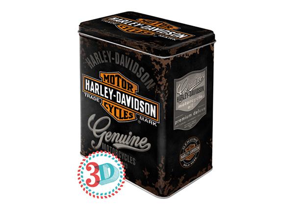 Жестяная коробка Harley-Davidson Genuine Logo 3 л
