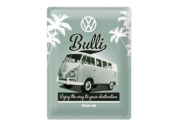 Retro metallijuliste VW Bulli 30x40 cm SG-89740