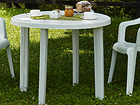 Muovinen puutarhapöytä TONDO Ø 90 cm EV-89853