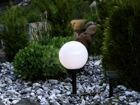 Садовая лампа с солнечной панелью 20 см