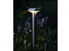 Садовый светильник с солнечной панелью