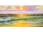 Картина Kuldne liivarand 120x60 см