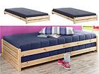 Peale tõstetavad voodid 90x200 cm, 2 tk