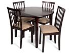Klaffipöytä MONACO+4 tuolia MILANO