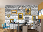 Fliis-fototapeet Images on wall 360x270 cm ED-90657