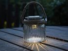 LED puutarhavalaisin aurinkoenergialla