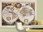 Fliis-fototapeet World map 360x270 cm ED-90724