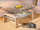 Журнальный стол со стеклом Loana AY-90819